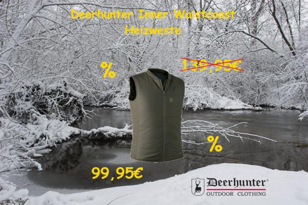 Deerhunter Heat Inner Waistcoast Heizweste