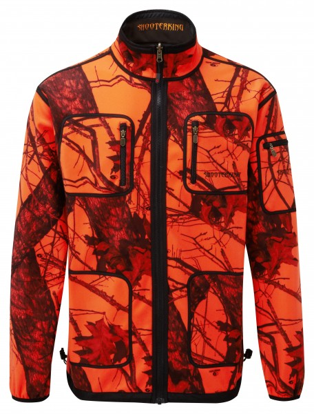 Shooterking Mossy Orange Damensoftshell D1212/1