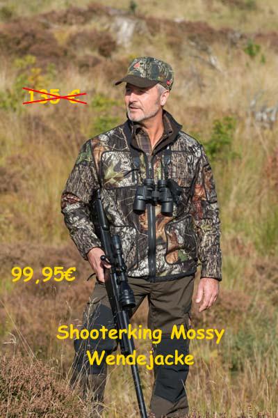 Shooterking Mossy Softshell Jacke D1209