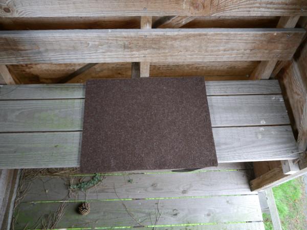 Filz Sitzkissen 40x50cm mit Trageriemen