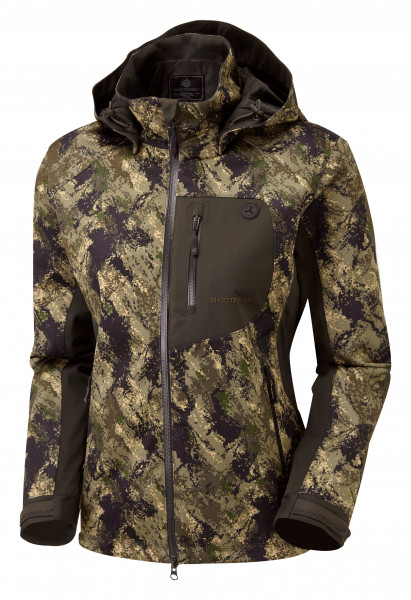 Shooterking Huntflex Damenjacke digital Camo Forest-Mist