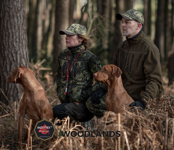 Shooterking Woodlands Softshell Damen Wendejacke