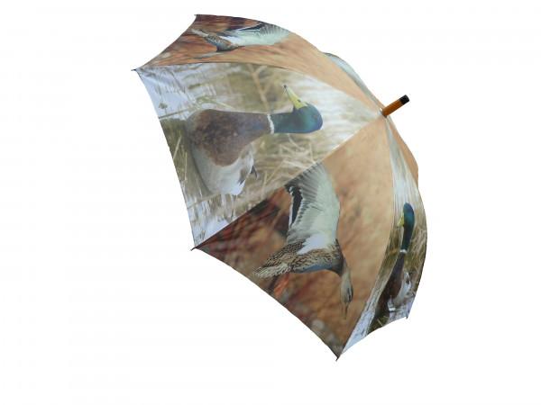 Regenschirm Stockente